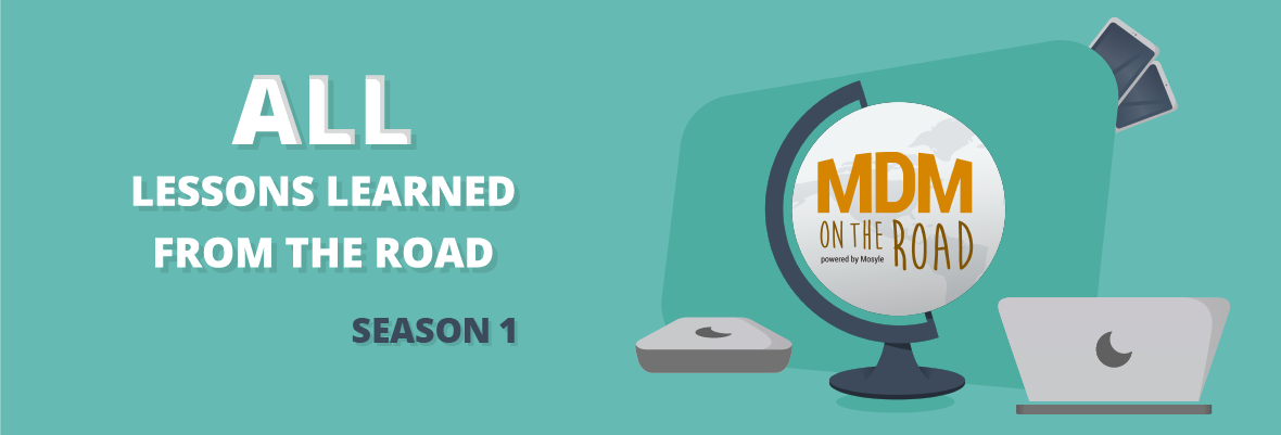 Lessons we learned from season one of MDM on the Road
